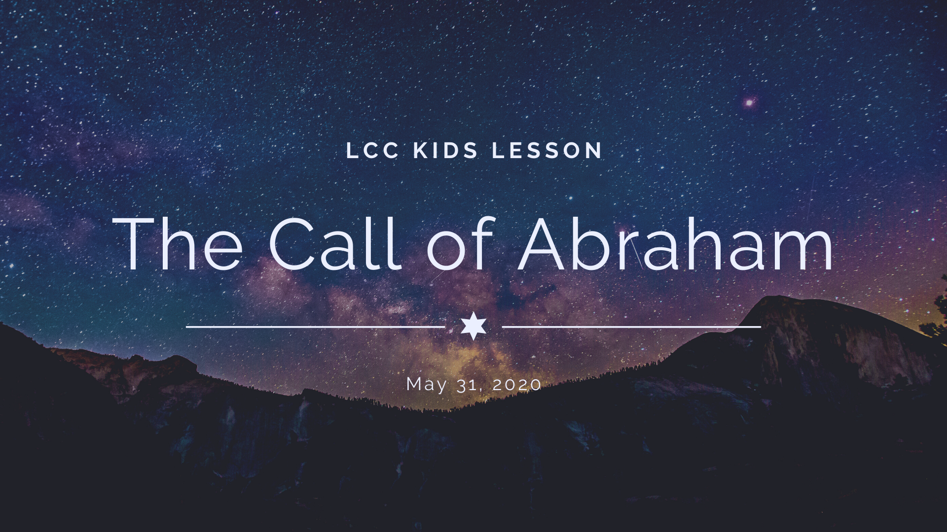The Call of Abraham banner