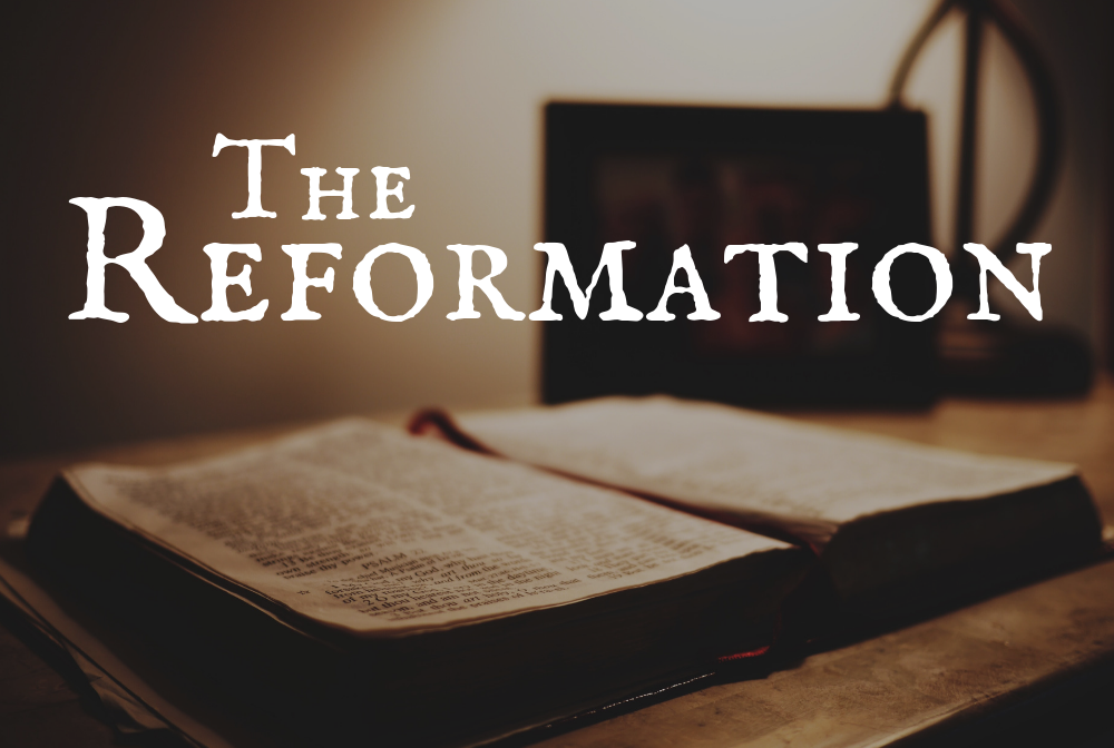 The Reformation banner