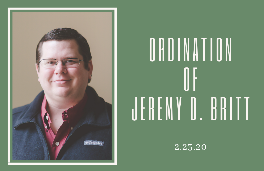 Jeremy's Ordination image