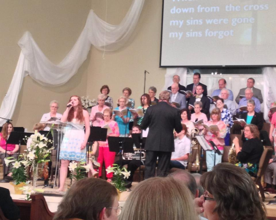 Alleluia Choir Easter 2012
