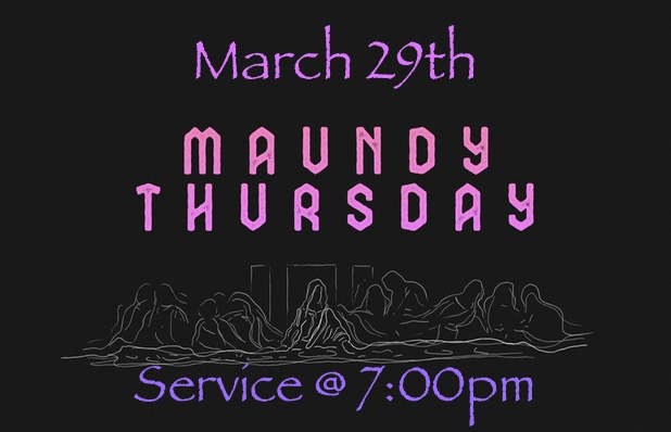 Maundy Thursday_Blog