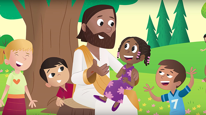 early childhood video message image