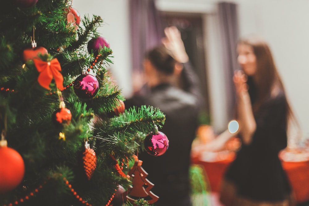 christmas_party-stock image