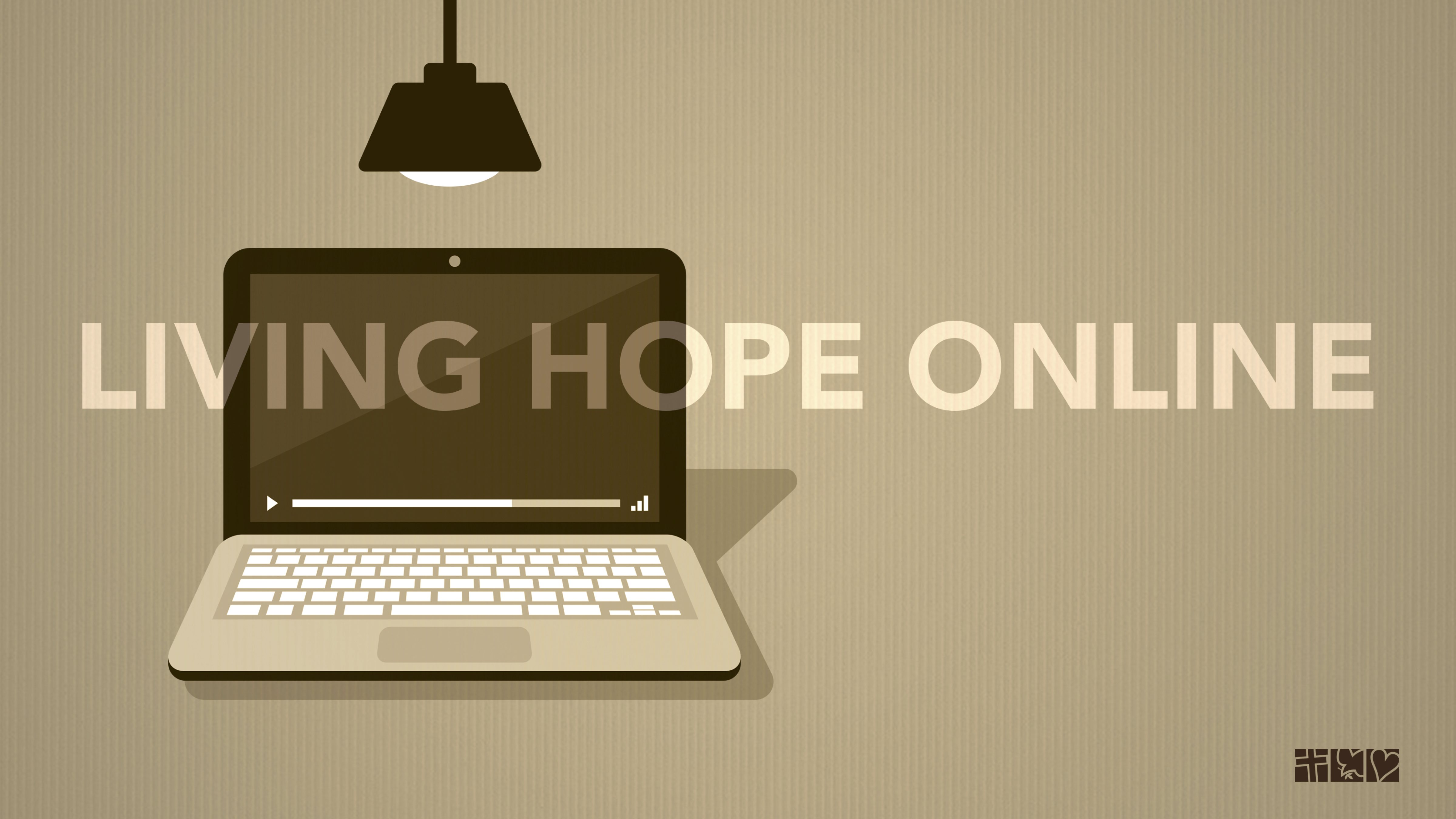 Living Hope Online button