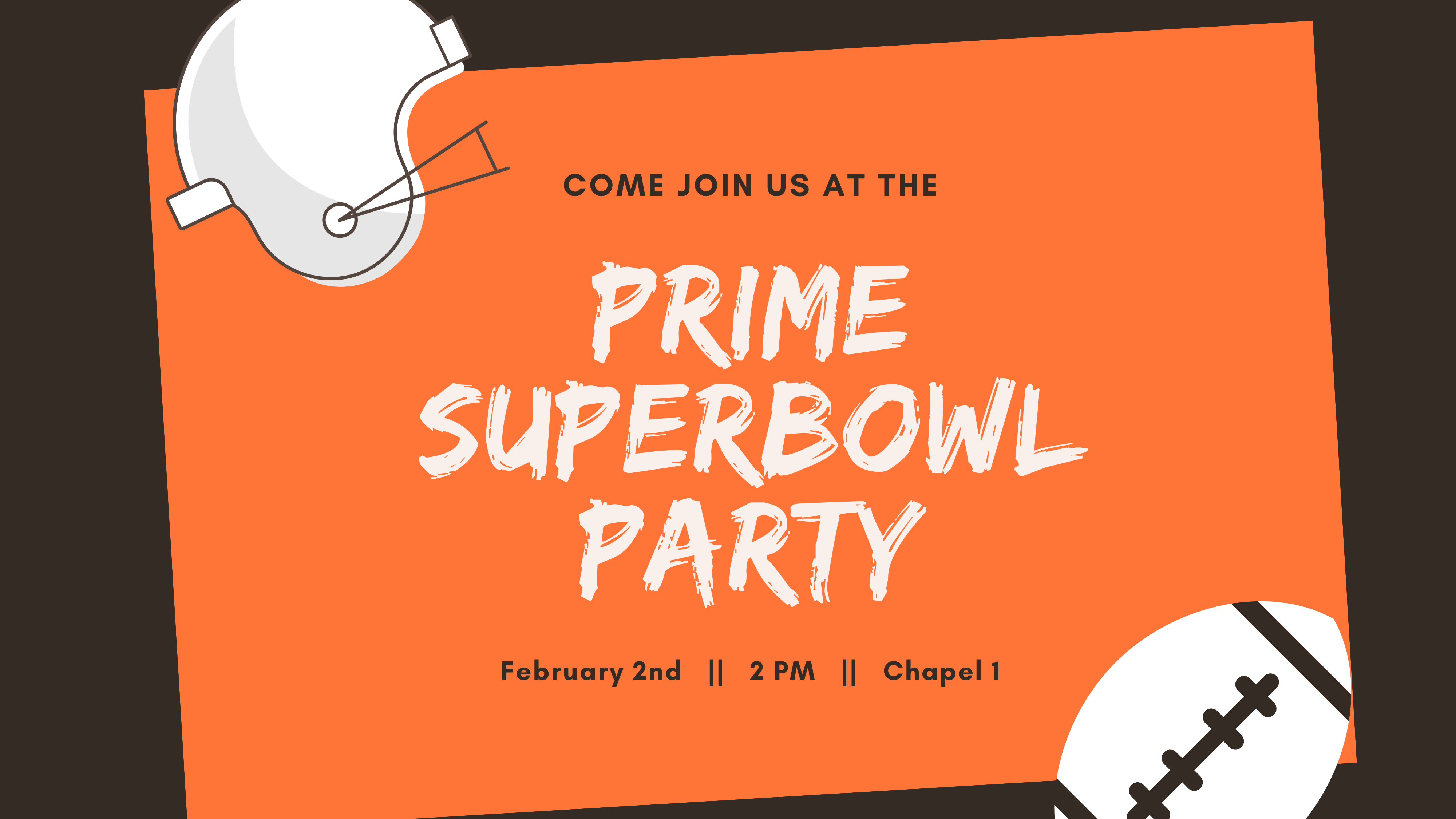 Prime Superbowl Party