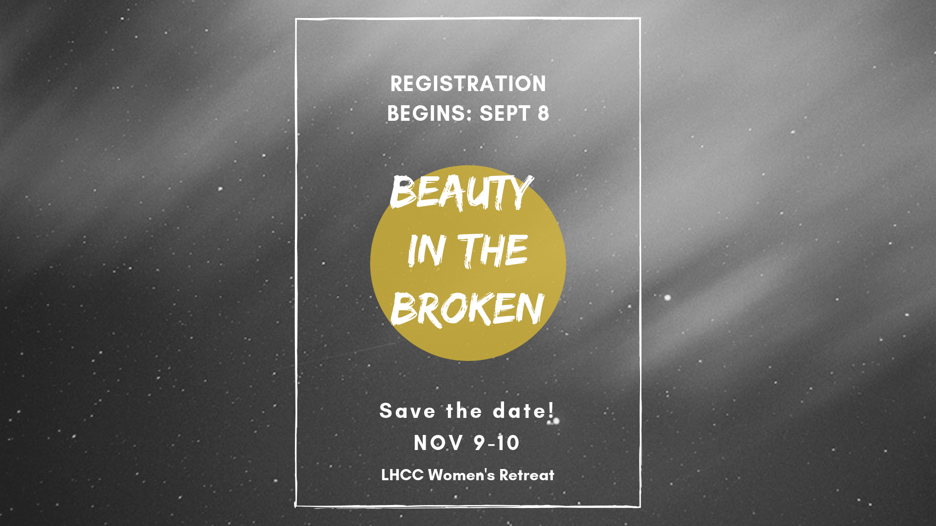 Women's Retreat 2019 save the date