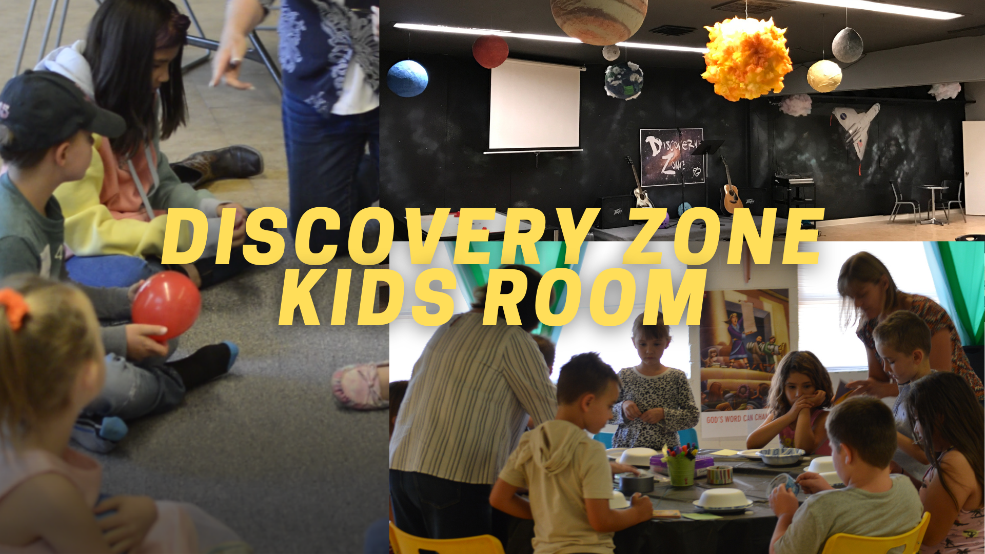Discovery Zone Kids Room