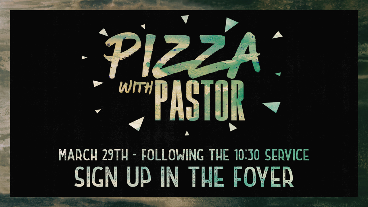 Pizza with pastor march