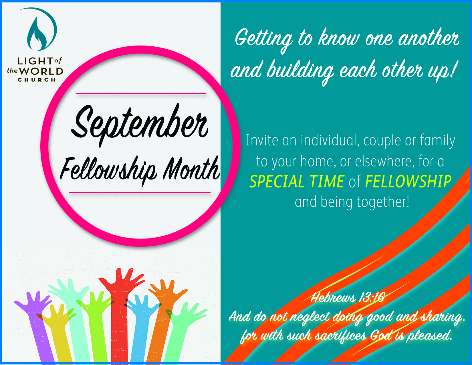 Fellowship mth of Sept