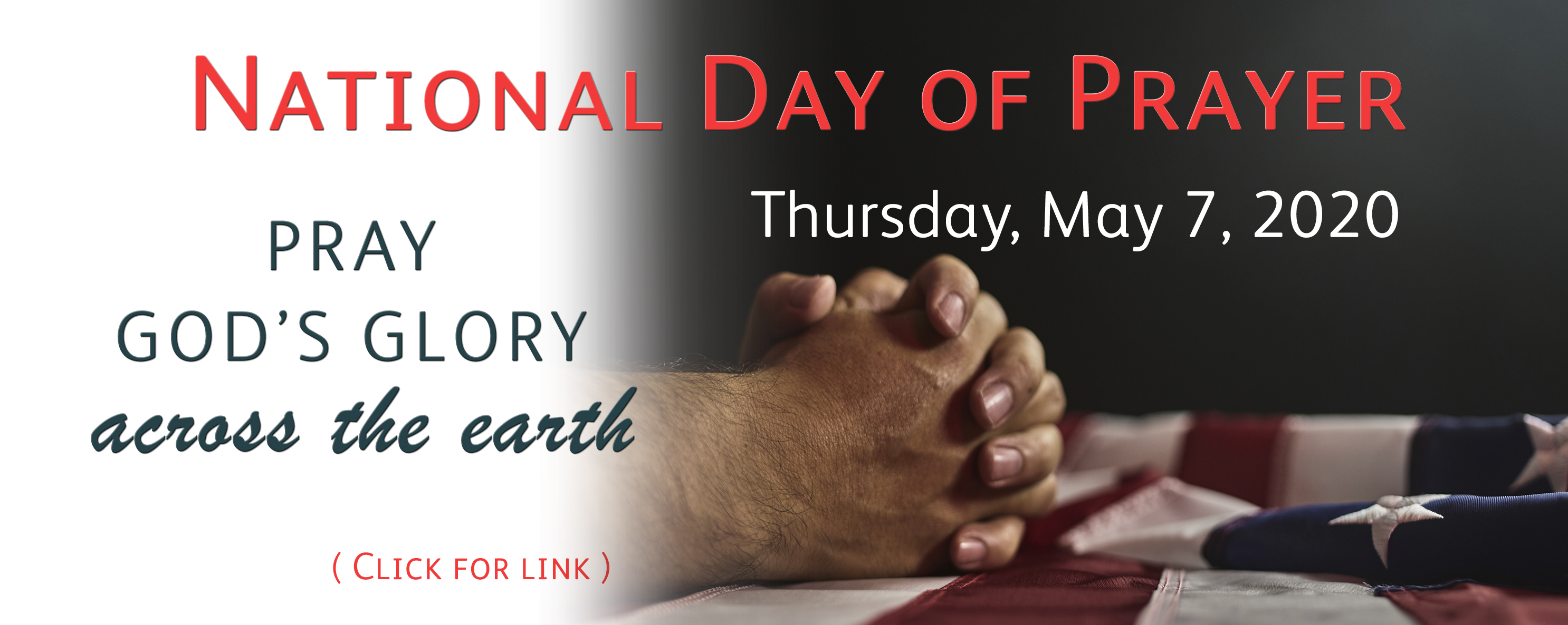 National Day of prayer 2020 image