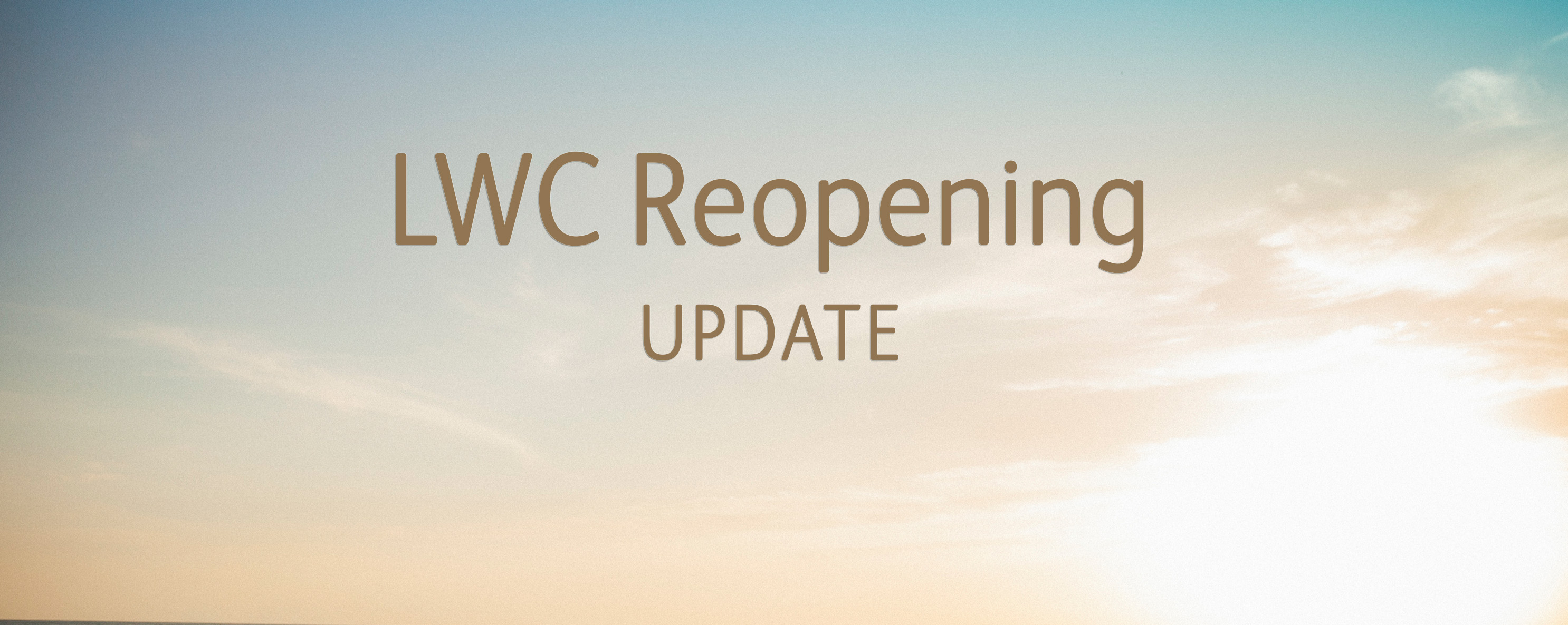Reopening Update 2020-rotator