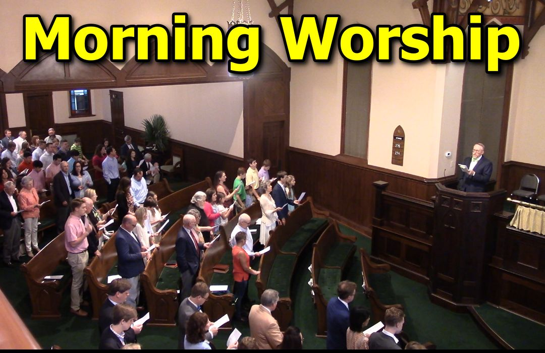 Morning Worship Feature image