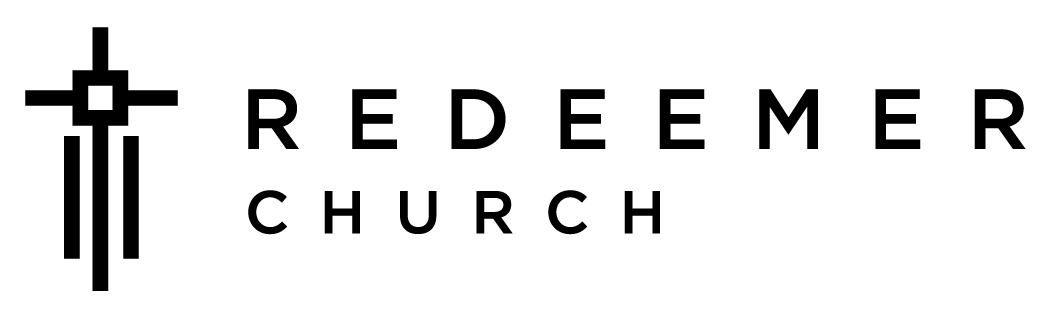 Redeemer Logo Horizontal with church _000000-05-04