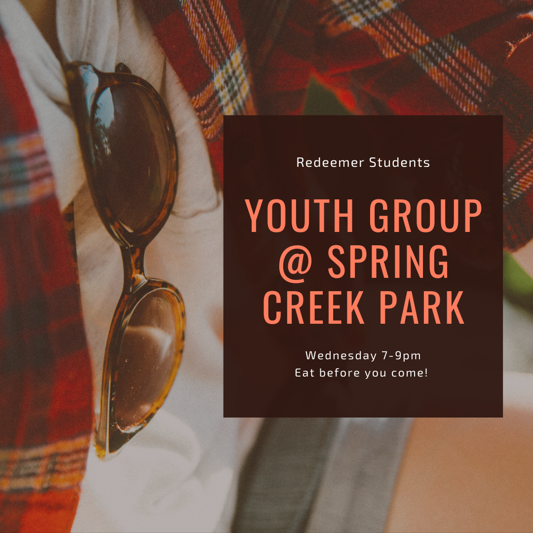 Youth Group @ Spring Creek Park