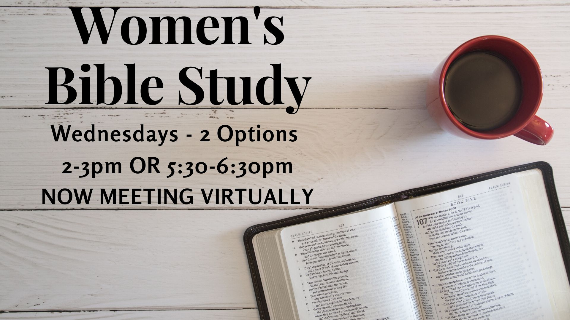 2options Women's Bible Study