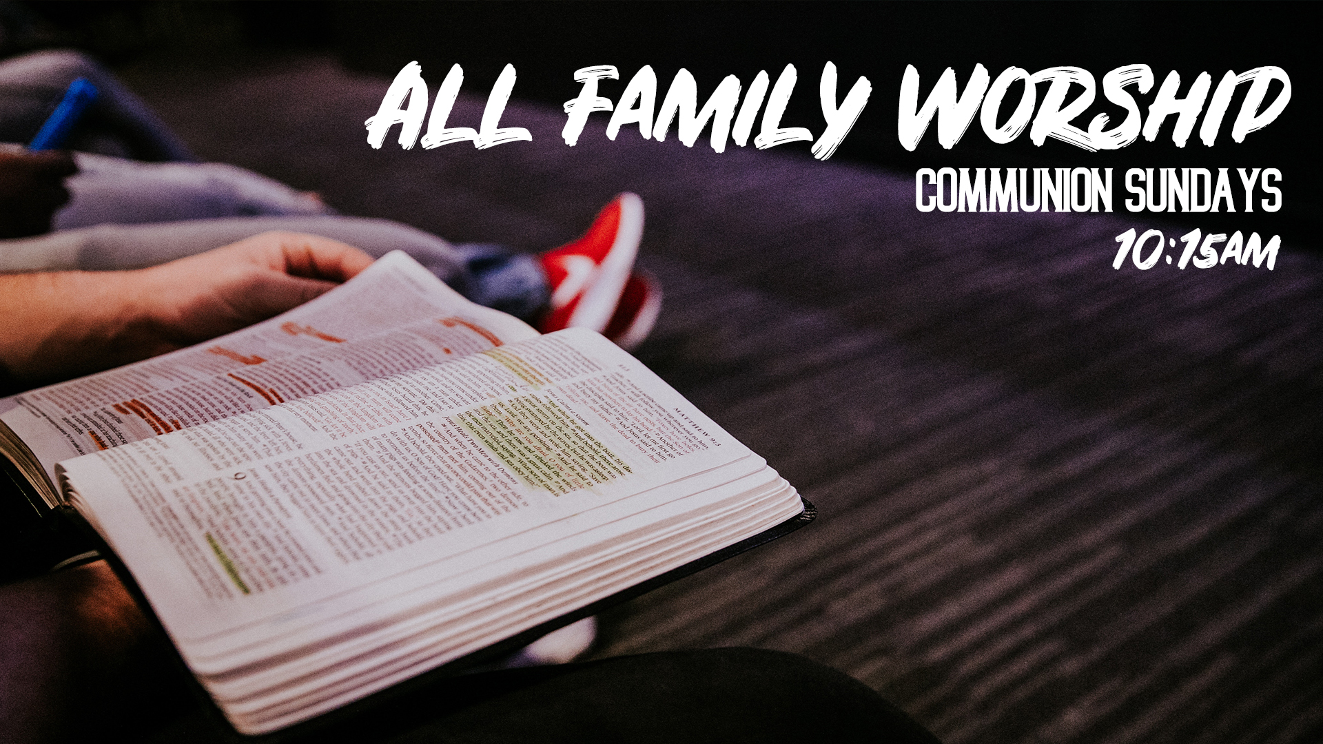 All Family Worship image