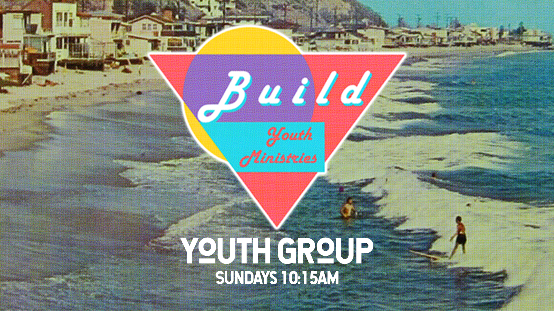 Build youth group sunday logo image