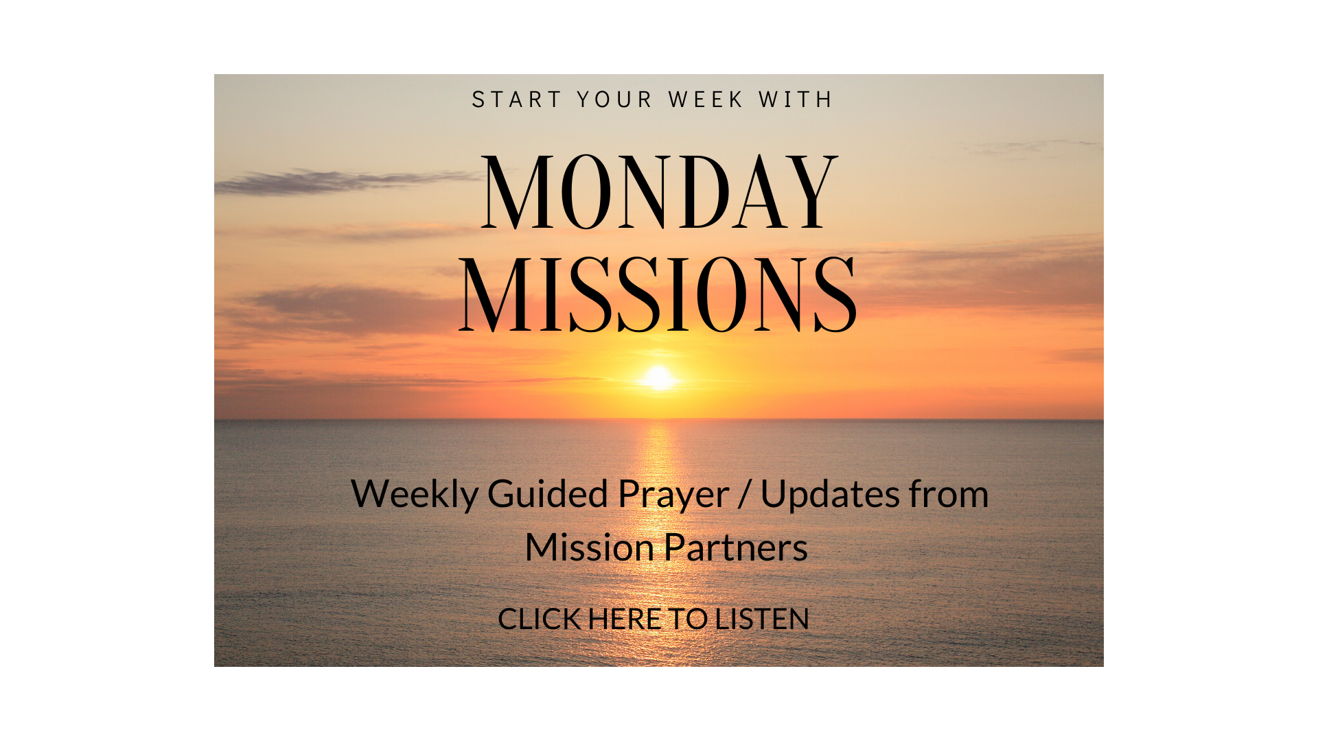 Copy of Copy of Monday Missions