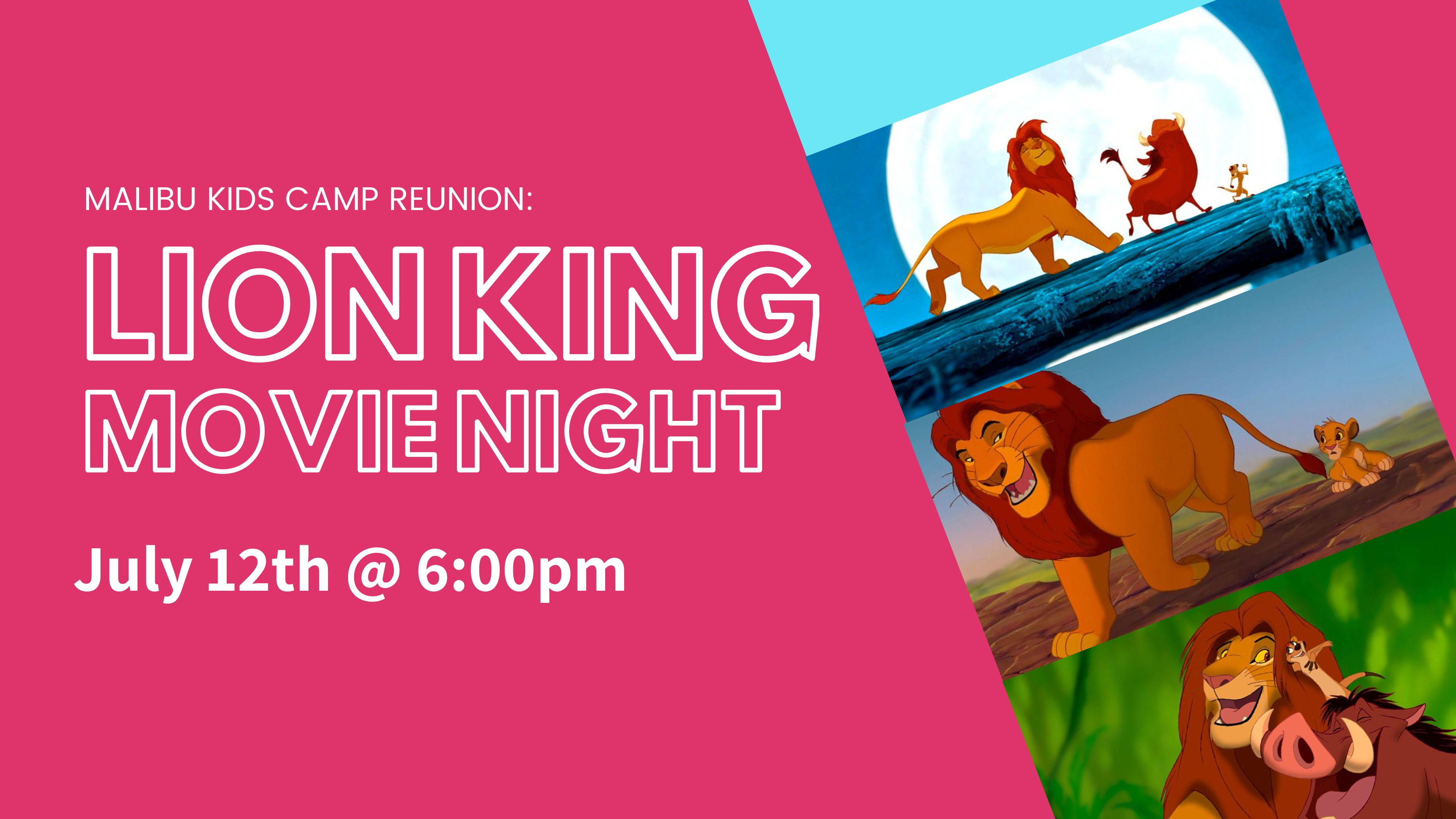 Copy of Lion King Movie Night image