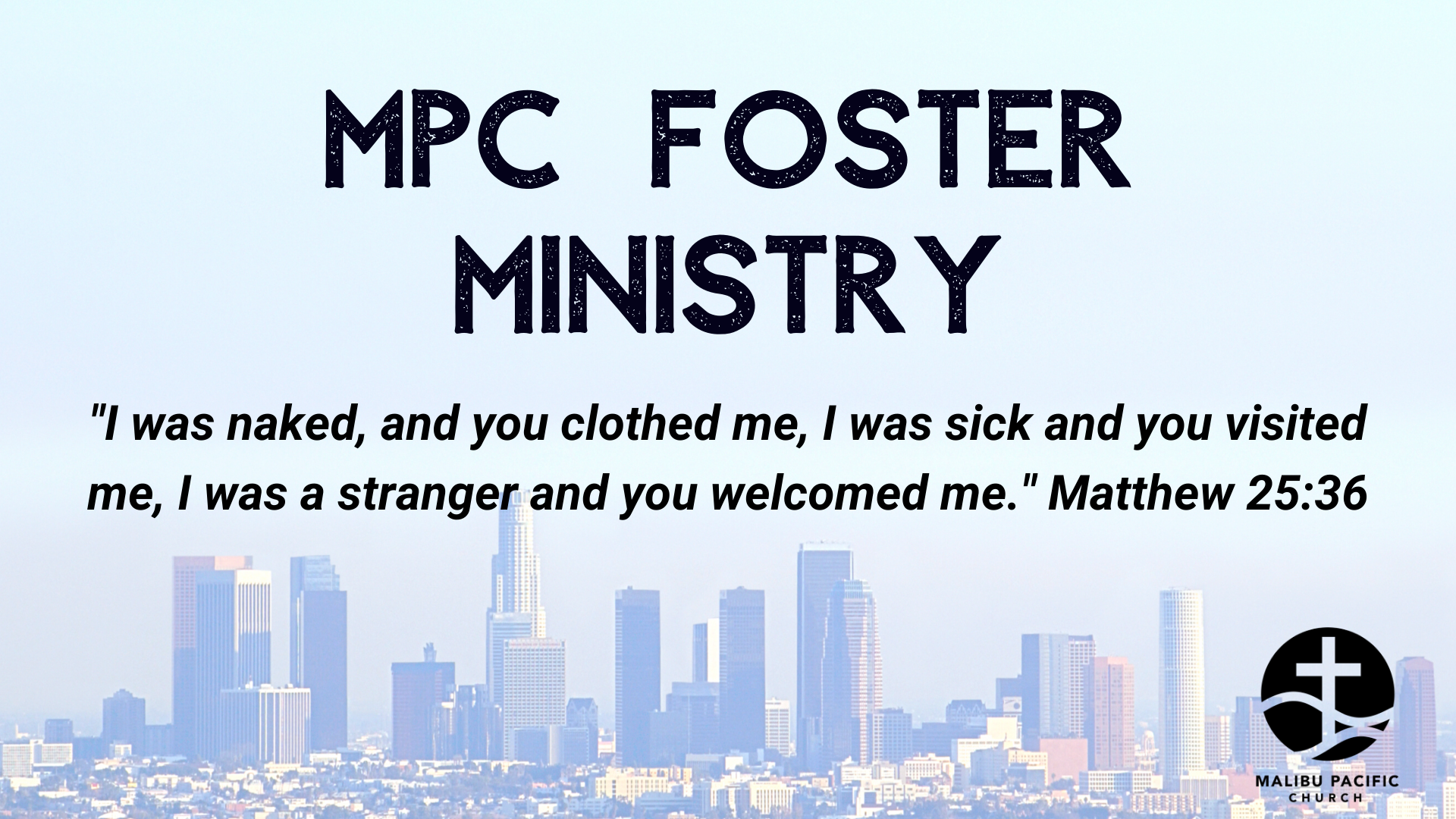 Foster Ministry