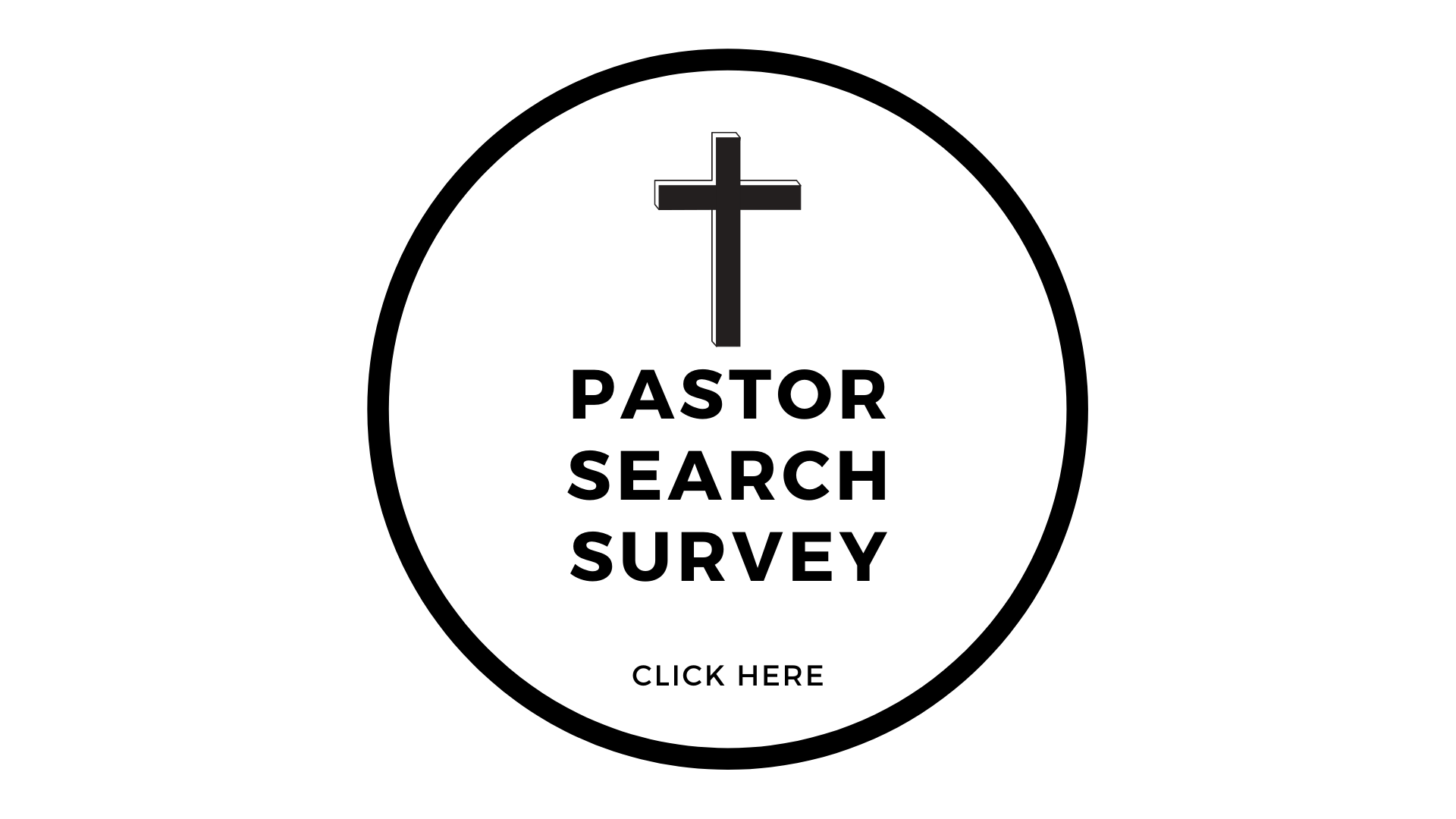 Pastor Search Survey image