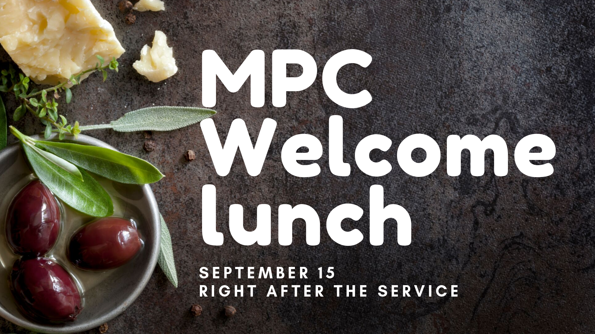 Welcome Lunch image