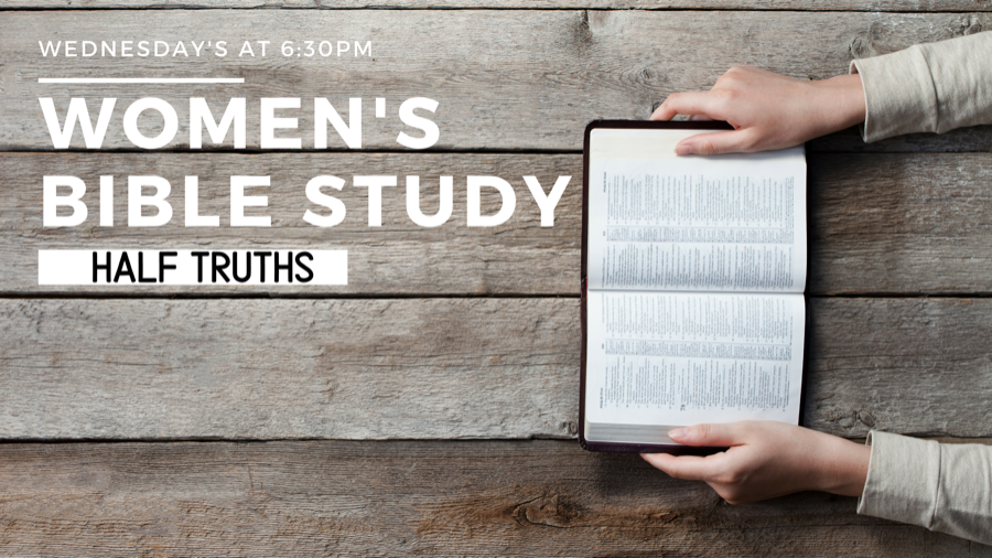 Womens Bible Study Half Truths image