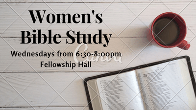 Women's Bible Study Slide