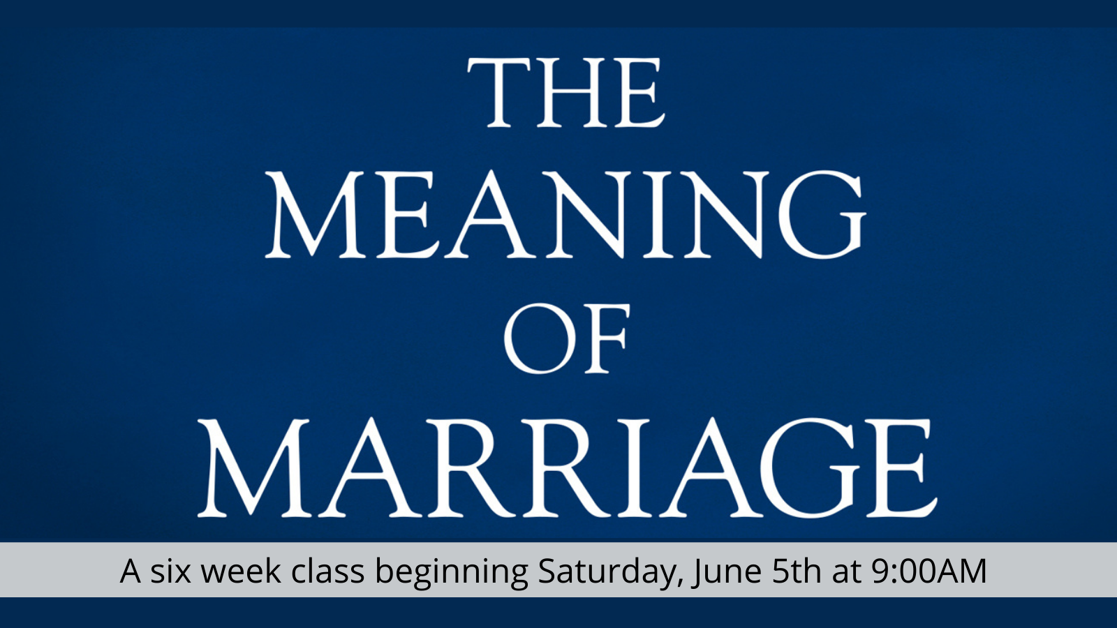 Meaning of Marriage AR