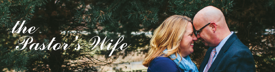 Pastor's Wife Appreciation Month banner