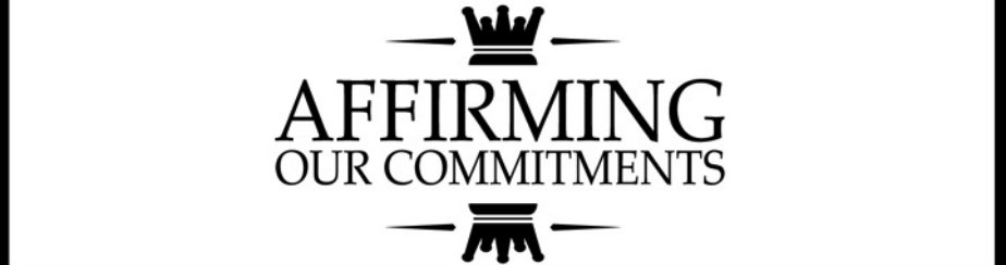 Affirming Our Commitments banner