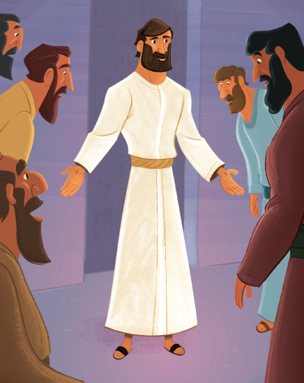 Jesus Appeared to the Disciples