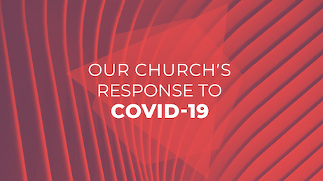 Our Churchs Response To Covid 19 Red Shapes-Featured