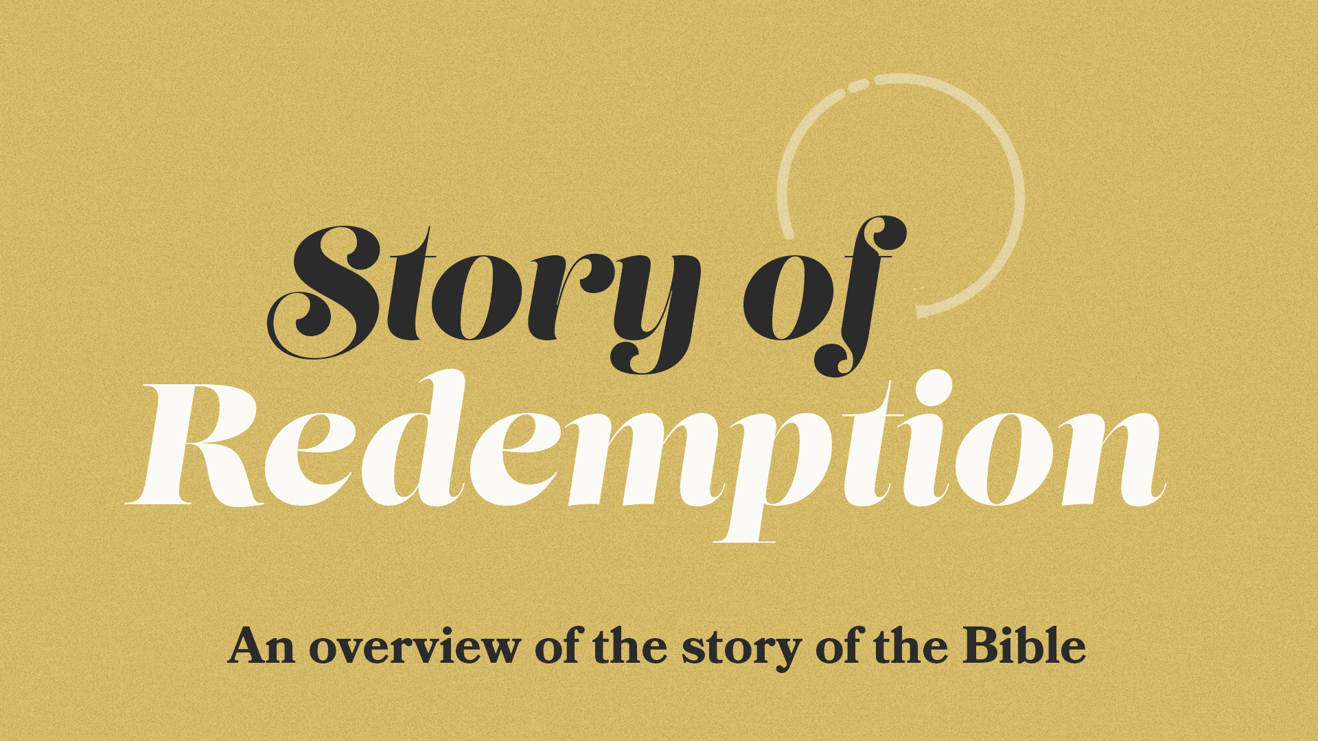 Story of Redemption image