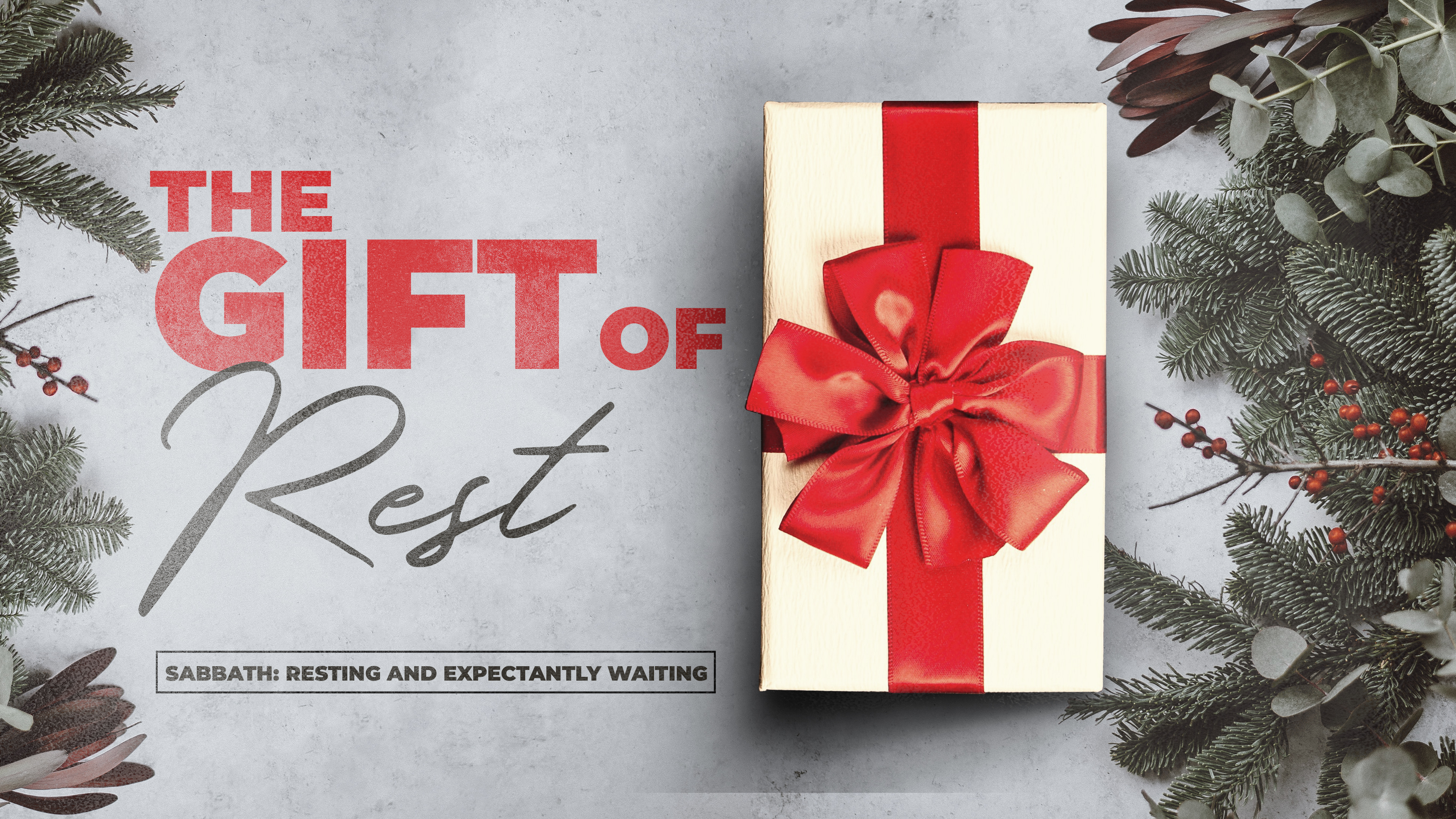 The Gift of rest image
