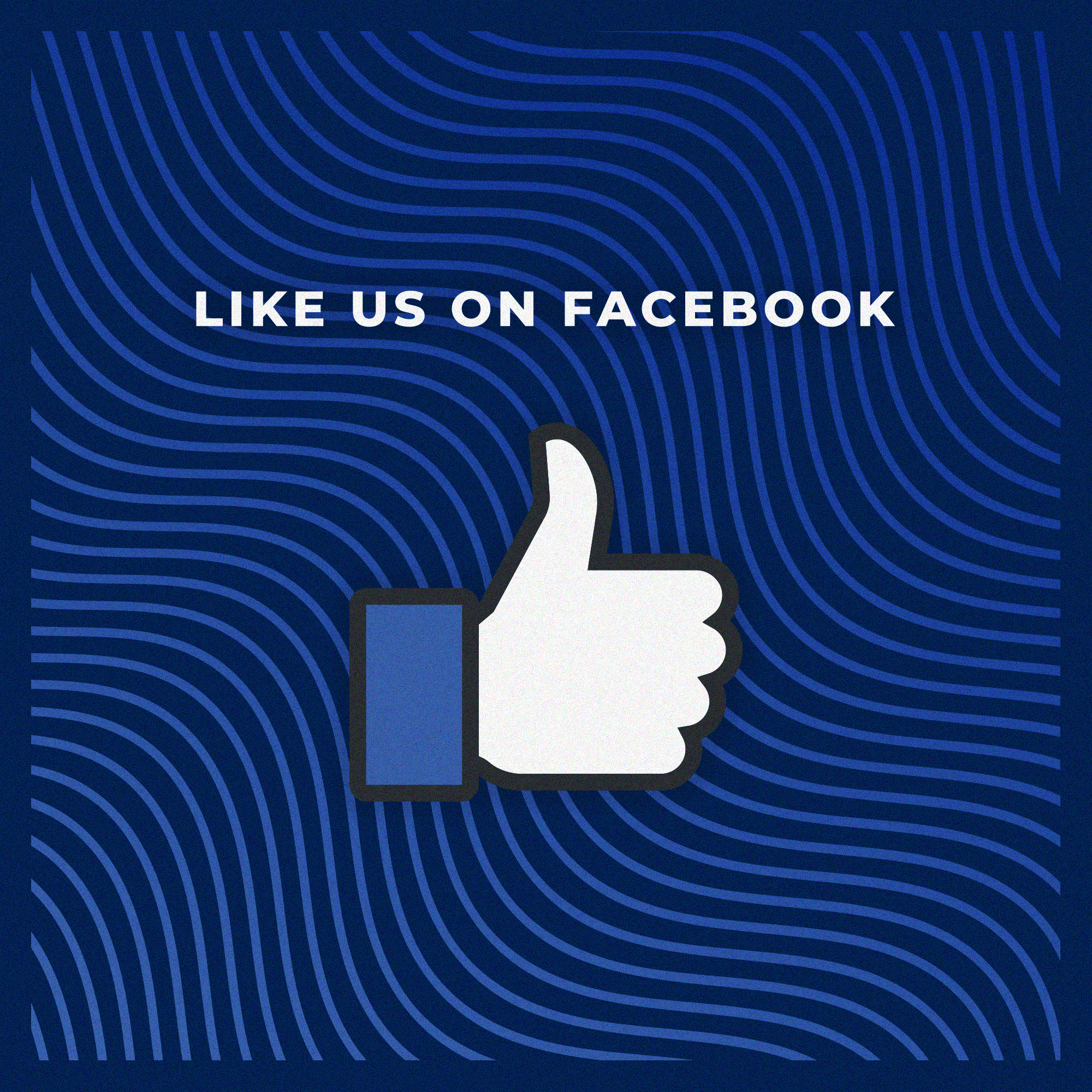 Wavy Lines Like Our Facebook Page - Title