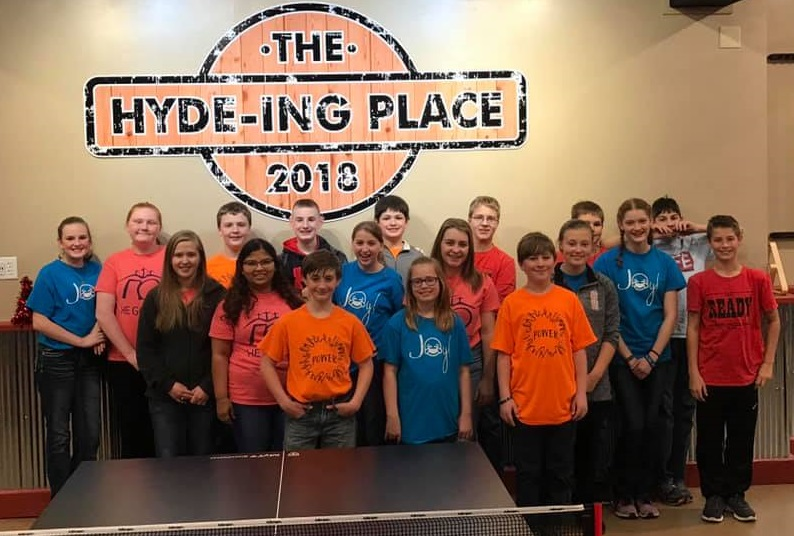 Hyde-ing Place Youth Center