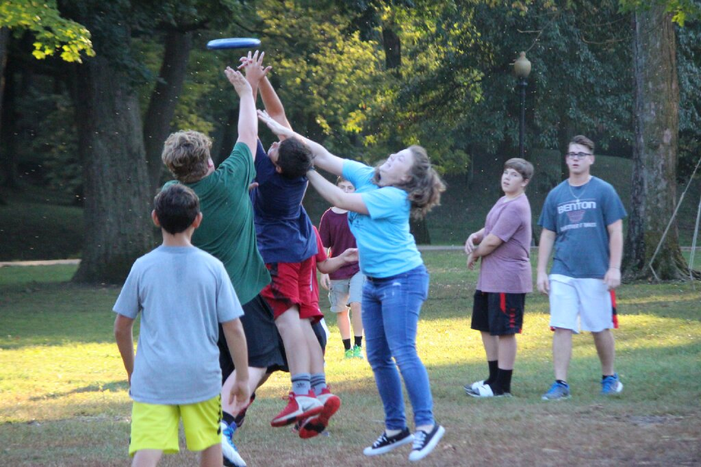 Ultimate frisbee sq