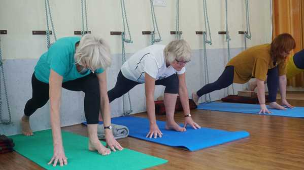 older people excersing