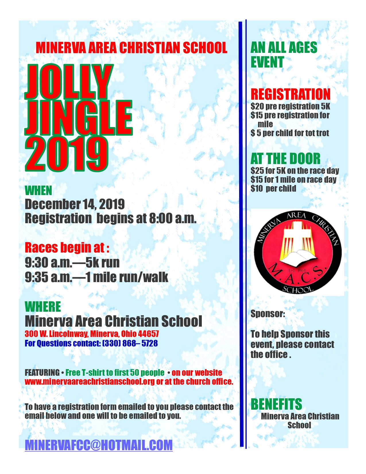 jolly Jingle 2019 flyer