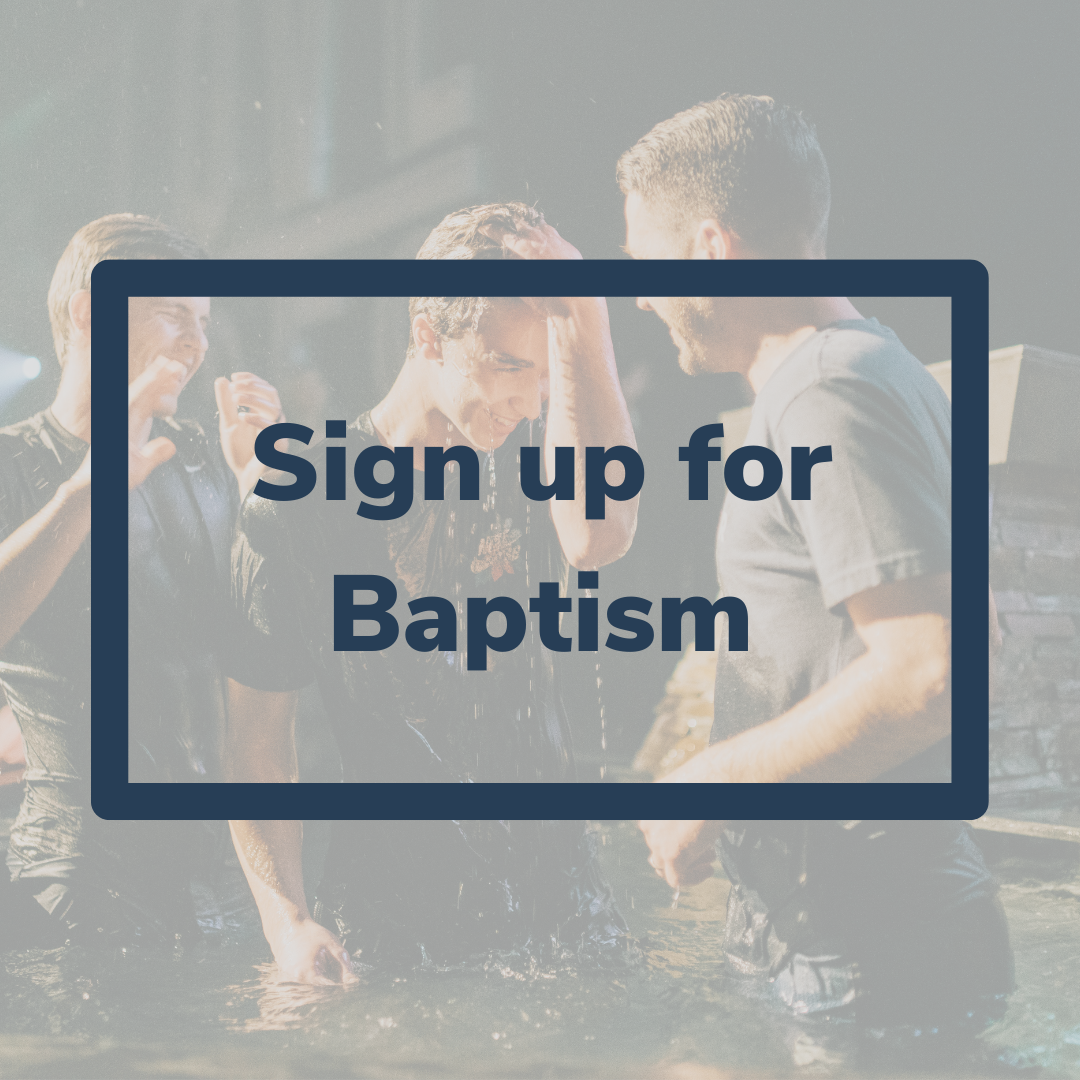 Baptism Connect Page