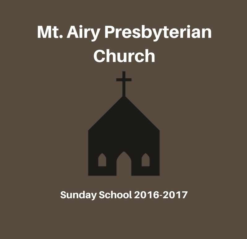Adult Sunday School 2016-2017 banner