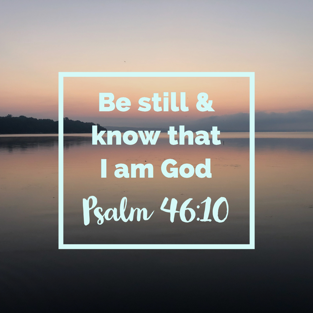 Be Still Graphic