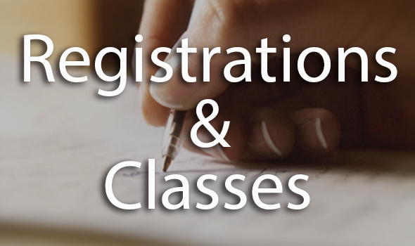 Register for Events & Classes