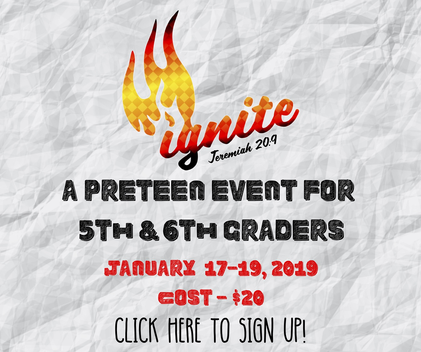 A PRETEEN EVENT FOR 5TH AND 6TH GRADERS (1)