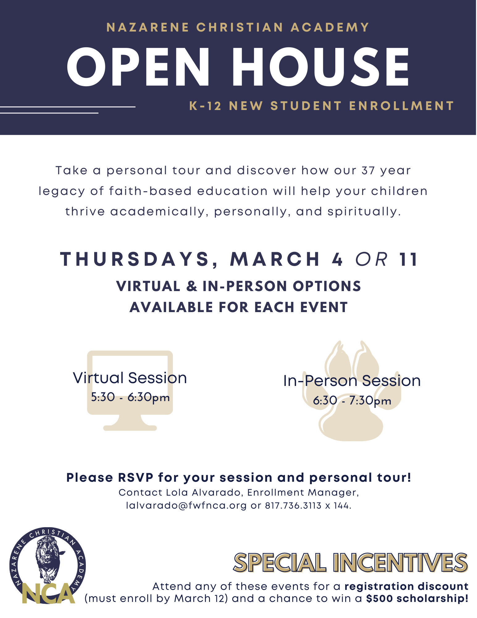 open house march