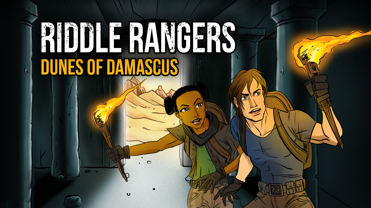 Riddle Rangers_Title Still Graphic