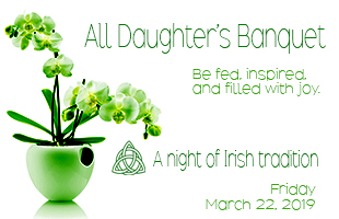 All Daughters Banquet event header image