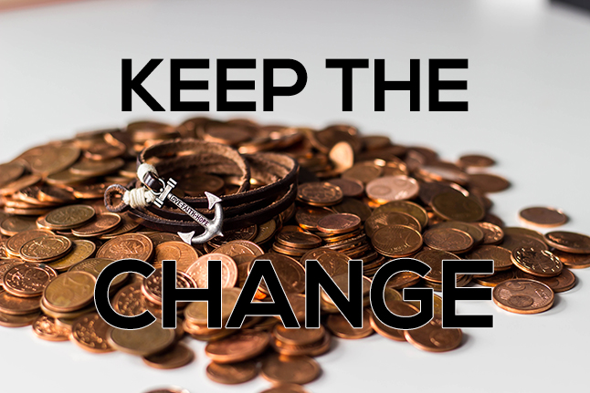 Keep the Change 2020 banner