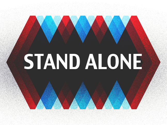Stand Alone banner